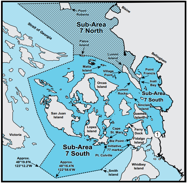 South San Juan Islands Bellingham Washington Department Of Fish Wildlife