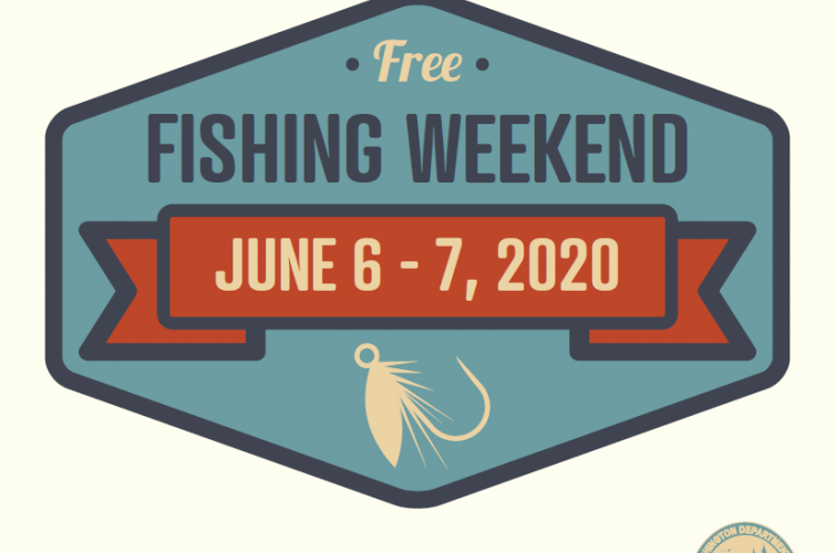 Emblem for Free Fishing Weekend