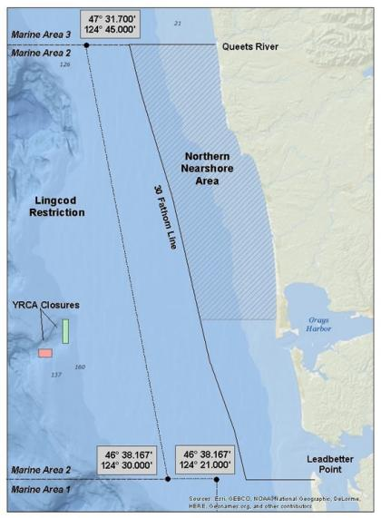 Bottomfish restrictions in marine area 2